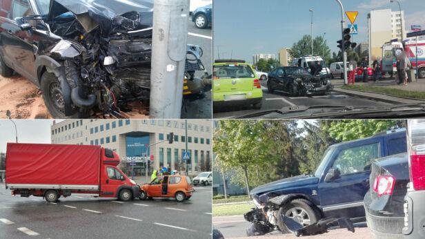 Niebezpieczne skrzyżowanie na Ursynowie tvnwarszawa.pl