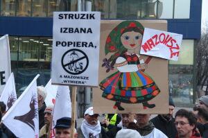Mazowsze protestowało przeciwko dyrektorowi