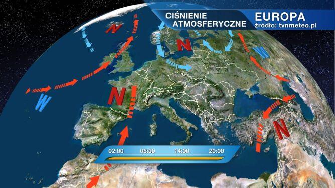 Pogodę w Polsce kształtuje niż Ute