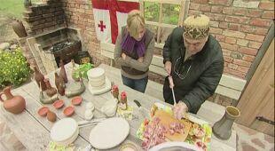 """Z archiwum wrzesień 2008 (odc. 186)  """"Ogród z gruzińską kuchnią"""""""