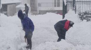 Największe opady śniegu w Grecji od 12 lat