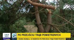 Częstsze gwałtowne zjawiska wymagają zmian (TVN24)